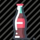 bottle, coca cola, drink, glass, soda icon