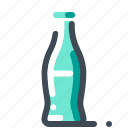 bottle, drink, glass, soda, water icon