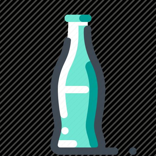 bottle, drink, glass, soda, water icon