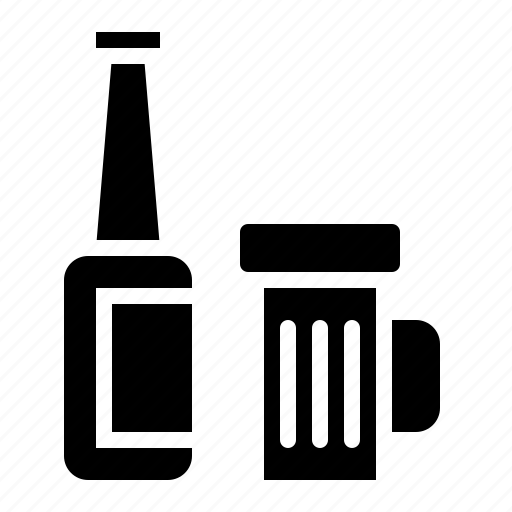 Alcohol, alcoholic, beer, bottle, drink, drinks icon - Download on Iconfinder
