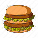 burger, cooking, fast food, food, hamburger, restaurant
