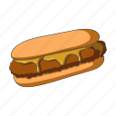 cooking, fast food, food, hot dog, restaurant icon
