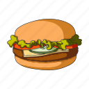 burger, cooking, fast food, food, hamburger, restaurant icon