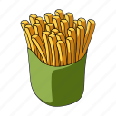 cooking, fast food, food, french fries, restaurant icon