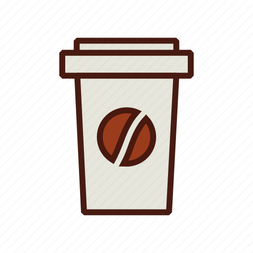 coffee, cup, fast, food, takeout, to go icon