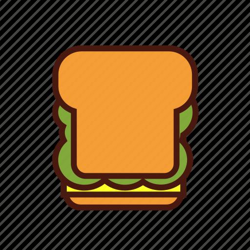 blt, fast, food, sandwich icon