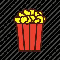 fast, film, food, movie, popcorn icon