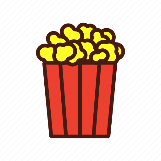 fast, film, food, movie, popcorn icon