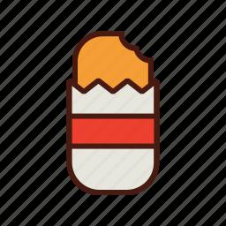 breakfast, brown, fast, food, hash icon