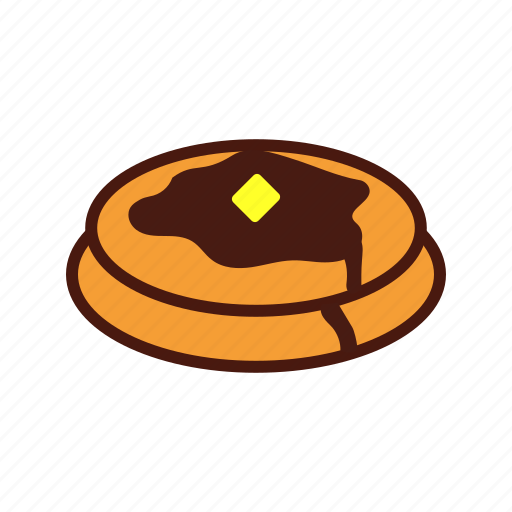 breakfast, fast, food, pancakes, syrup icon