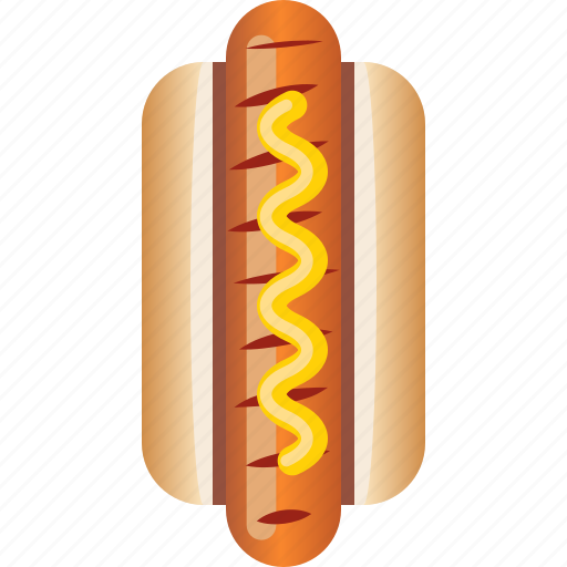 fast, food, hot dog, pastry, sausage, snack, yumminky icon