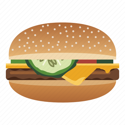 Burger, cheeseburger, fast, food, hamburger, snack icon - Download on Iconfinder