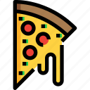 fast, food, pizza icon