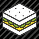 fast food, food, junk food, sandwich icon
