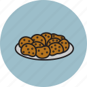 chicken, food, fry, meat, nuggets icon