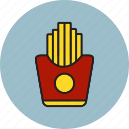 food, french, fries, fry icon