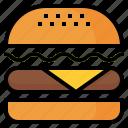 burger, fast, food, hamburger, restaurant