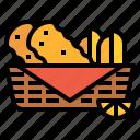 chip, fast, fish, food, fries
