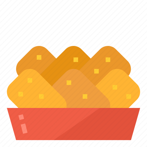 Chicken, fast, food, nuggets, snack icon - Download on Iconfinder