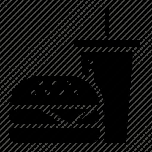 fast, food, junk, restaurant icon