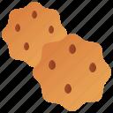 bakery, biscuit, cookies, dessert, snack icon