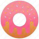 bakery, dessert, donuts, dough, sweet icon