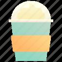 cream, drink, float, ice, sweet