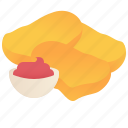 appetizer, chicken, food, fried, nugget icon