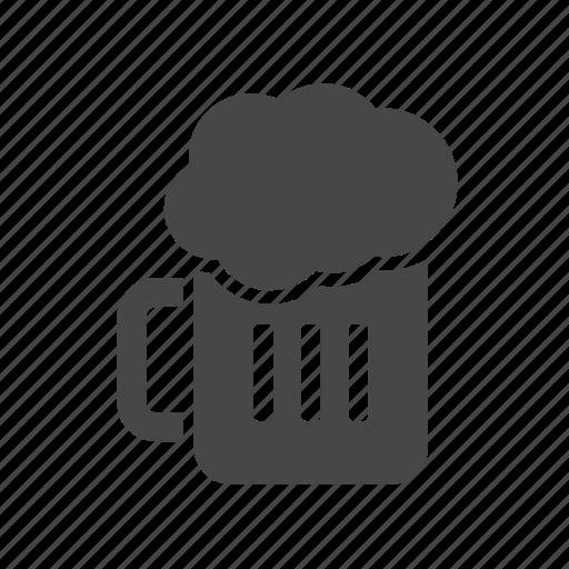 beer, breakfast, fast, food icon
