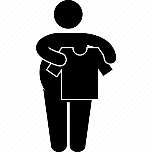 determination, fat, loss, motivation, obesity, reduce, weight icon