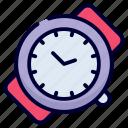 wristwatch, watch, time, alarm, schedule