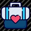 bag, briefcase, suitcase, luggage, travel