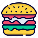 burger, food, fast food, bread, sandwich, cheeseburger