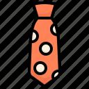 dad, daddy, father's day, gift, masculine, necktie, tie icon