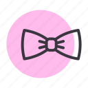bow, dress, tie, wear icon