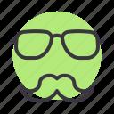 avatar, father, glasses, specs icon