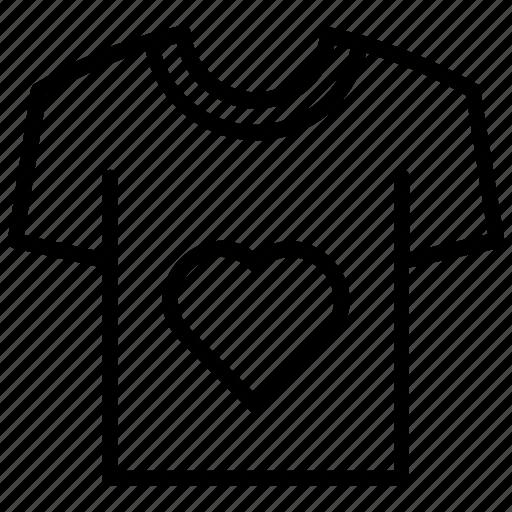 apparel, fashion, shirt, tee, tshirt icon