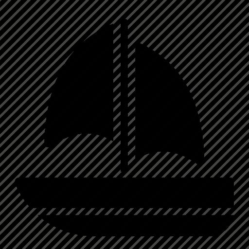 cruiser, sailing boat, ship, transport, yacht icon