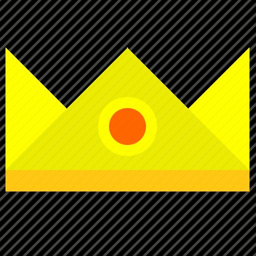 crown, dress, head, king, prince, royal icon