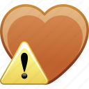alert, date, favorite, heart, love, passion icon