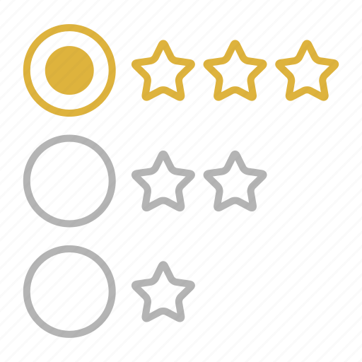 Feedback, rating, stars, web icon - Download on Iconfinder