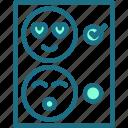 review, happy, smiley, emoji, feedback