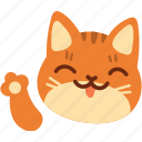 cat, feline, maneki, neko, pet icon