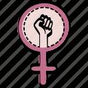 feminism, feminist, fight, power, women icon