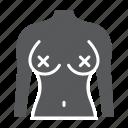 naked, female, radical, boobs, breast, feminism, woman icon