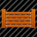 fence, horizontal, summer, texture, wood