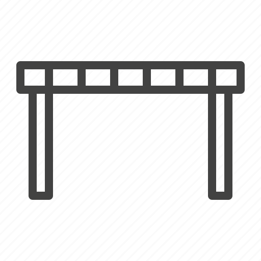 access, barrier, fence, fencing icon