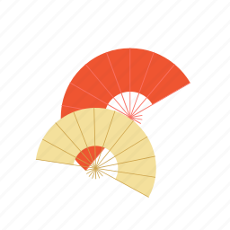 asia, fans, feng, japan, shui icon
