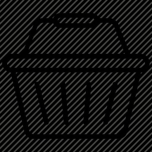 basket cart, grocery basket, shop basket, shopping basket, shopping cart icon