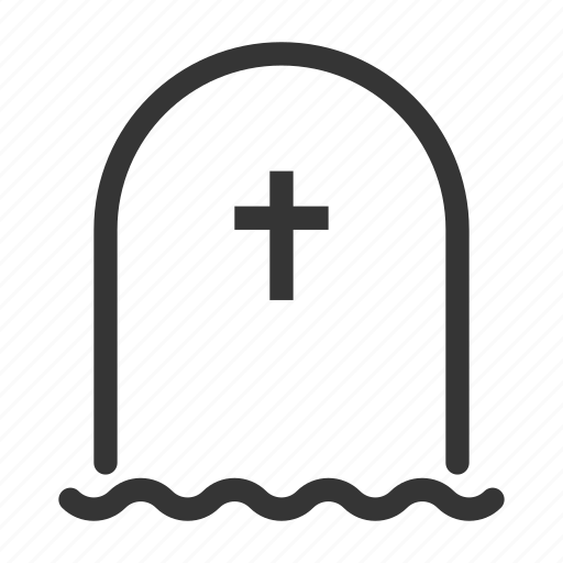 Dead, funereal, grave, gravestone, halloween, horror, rip icon - Download on Iconfinder